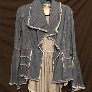 Jackets & Blazers - Jean jacket with tail